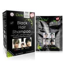 Hot Sale !Natural herbal black henna hair dye to make hair black shampoo
