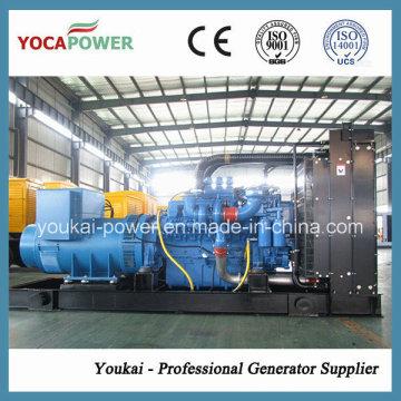 Mtu generador motor de 4 tiempos 600kw / 750kVA generador diesel de potencia