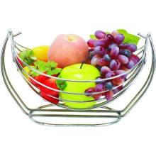 Cesta de frutas de acero inoxidable con precio bajo