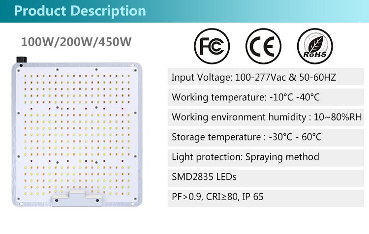 2.4G Wireless Dimming LED Gorw Light 2