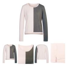 Two Color Fashion Unique Cashmere Sweater