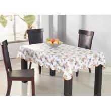 Toalha de mesa impressa de PVC com apoio não tecido (TJ0102B)