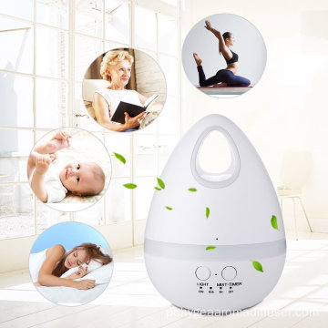 200ml Vaporizador Facial Steamer Humidifier para Óleos Essenciais