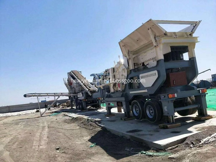 Mobile Stone Crusher Plant For Road Construction