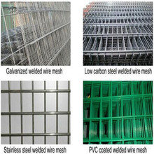 Rede de arame soldada galvanizada elétrica 2X2 para o painel da cerca