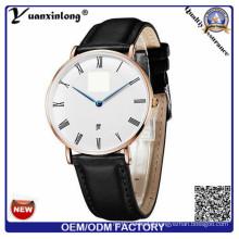 Yxl-763 New Women Watches 2016 Simple Hollow Small Chrysanthemum Geneva Women Luxury Brand Leather Watch