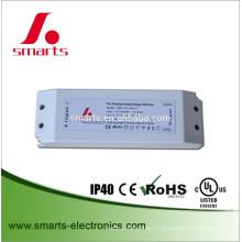 bandes triac dimmable 12v 45w LED driver ce ul énumérés pour l'affichage à LED