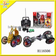 2013 горячих продаж мини высокой скорости электрический автомобиль RC трюк с легкими R / C игрушки H116506