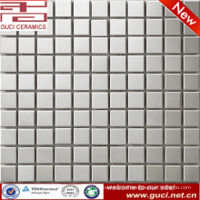 foshan factory supply Square stainless steel mosaic tile for bathroom wall