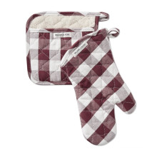 Commercial Oven Mitt And Pot Holder Set