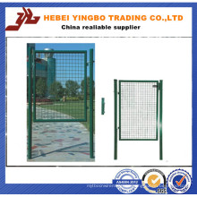 China fabricante Sfety soldado malla de alambre puerta de acero de la cerca