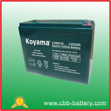 32ah 12V Electric Motorcycles Power Battery