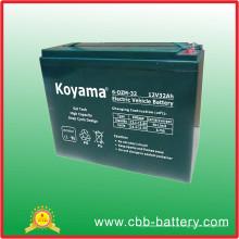Bateria elétrica do poder das motocicletas de 32ah 12V