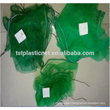 date netting bag date harvest net green and white color