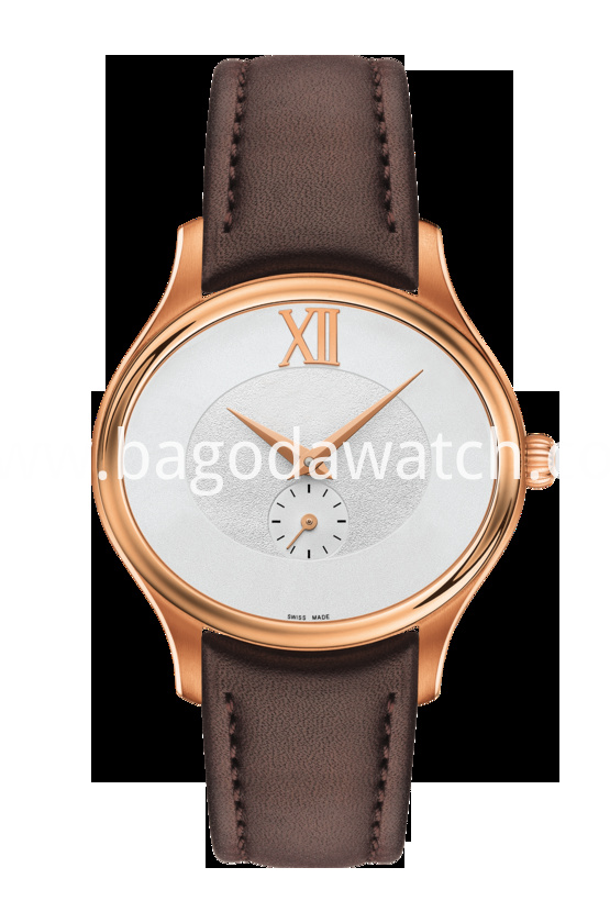Brown Leather Women Watches