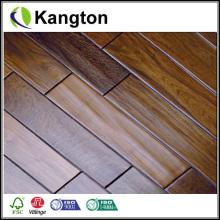 Suelo de madera dirigido de la nuez americana de la madera contrachapada (suelo de madera dirigido de la nuez)