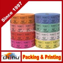 Boletos de Raffle - (4 Rollos de 2000 boletos dobles) 8, 000 Total 5050 boletos de rifa (4 colores surtidos) (420079)