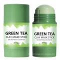 Salicylic Acid Clay Cream Deep Cleansing Moisturizing Hydrating Shrink Pores Oil Control Green Tea Face Mask Clay Stick