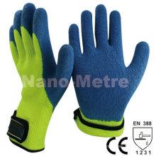 Gants en latex NMSAFETY gant en molleton d'hiver