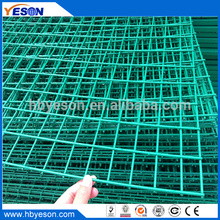 "animal fencing 2"" x 2"" fence mesh 48"" x100' green pvc coated galvanized welded wire mesh"