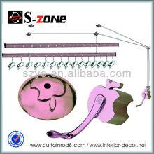 SZ12-06 cuivre à bas prix diviseurs à crémaillère porte pliable rack à vêtements chauffants