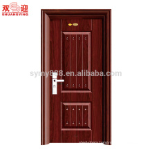 Modern stainless steel single security door designs
