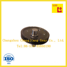 Forging and Carburizing Steel Bevel Gear with Shaft