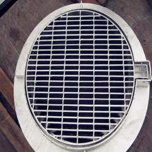 Venda quente galvanizado grade de aço bem cobrir