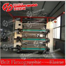 Máquina de impresión Flexo de seis colores 1.6 metros / máquina de impresión flexográfica