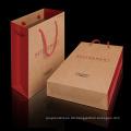 Kundenspezifische Folienstempel-Kartenpapier-Einkaufstasche Papiertüte