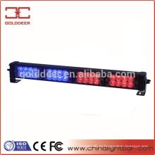 Luzes LED Dash/Deck/viseira, azul e vermelho aviso Strobe piscando luzes polícia luz (SL782)