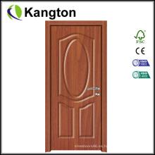 Decoración de puerta de película de PVC de grano de madera (puerta de película de PVC)