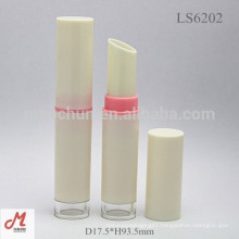 LS6202 Slim Plastic custom empty lipstick container wholesale