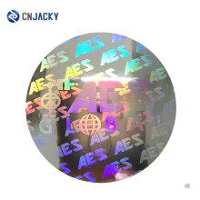 2D / 3D Anti-Fälschungshologramm-Aufkleber / integrierter Sicherheits-Hologramm-Aufkleber