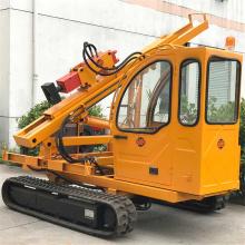 Road Construction Hydraulic Guardrail Pile Driver