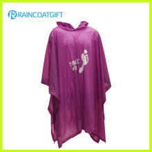 Promocional Adulto Poncho de chuva de PVC transparente RGB-126A