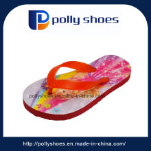 Newest Fancy Design Girls Flat Beach Slippers