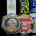 Design Your Own Miraculous Souvenir Marathon Running Cheap Award Sport Medals with Ribbon