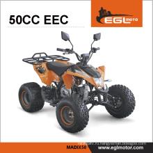 50cc atv спорта для детей с ЕЭС сертификат