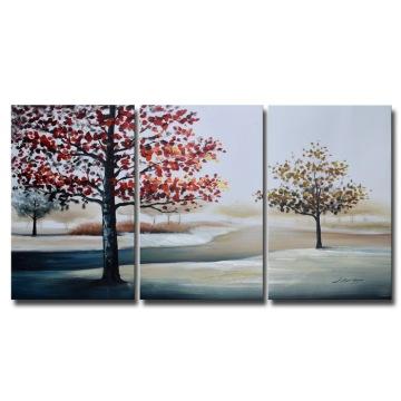 Atacado Handmade Modern Canvast paisagem pinturas a óleo