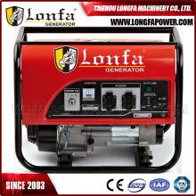 Gx200 6.5HP démarrage électrique portable Honda générateur essence 2500