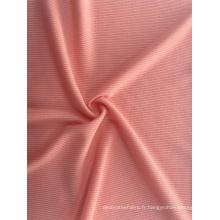 Tissu de mode en tricot côtelé