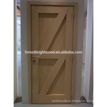 Diseño de puerta de granero de madera de estilo country de aspecto agradable