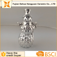Placage Silver Christmas Snowman pour Christams Décoration