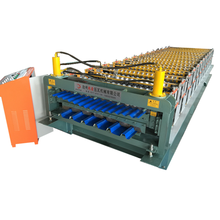 Trapezoidal Corrugated IBR Sheet Roll Forming Machine