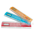 8 Digits ABS Ruler Calculator with 20cm Measurement Ruler (LC582B)