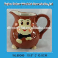 Promotional ceramic teapot in monkey shape