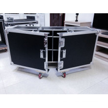 2016 Keli Aluminum Flight Case with 4 Casters Wheel