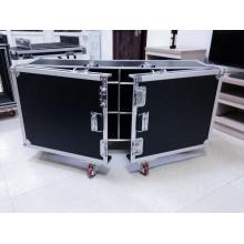 2016 Caixa de alumínio do vôo de Keli com roda de 4 rodízios