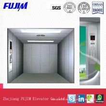 Máquina ahorradora de espacio de gran capacidad Ascensor de carga sin habitaciones para fábrica, centro comercial